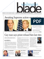 Washingtonblade.com, Volume 45, Issue 8, February 21, 2014