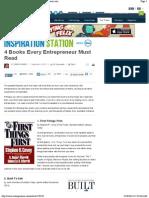 4 Books Every Entrepreneur Must Read _ Entrepreneur