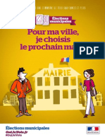 Depliant Vote Commune Plus de Mille Habitants