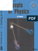 Concepts of Physics by HC Verma Volume1-