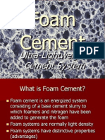 13- Foam Cement Considerations
