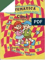 159532795 Matematica Caiet de Teme Pentru Acasa Clasa 1 Semestrul 1 Ed Diana Maria Si Ioan Chera TEKKEN