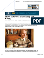 How Your Cat is Making You Crazy - Magazine - The Atlantic