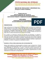 PRESENTACION CAMPAÑA VIAL 30-11-2013