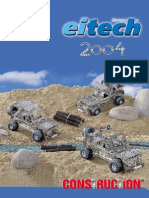 Not Marklin Metall Nor Meccano - Eitech Katalog