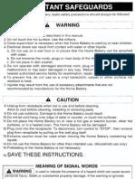18122724 Hitachi Home Bakery Model HBD102 Instruction Manual Recipes HBD102 (1)