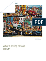 20.What is Driving African Growth-McKinsey Quarterly Journal Report
