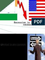 Recession in India vs Recession in USNSB by jitu bordoloi(NSB)