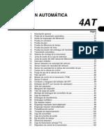Caja D-4AT - Diagnóstico