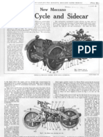 Meccano - SuperModels No 3 - Motorcycle and Sidecar (1928)