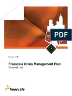 h07 - Freescale Crisis Management Plan
