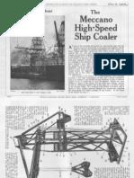Meccano - SuperModels No 2 - High-Speed Ship Coaler (1936)