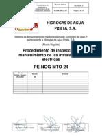procedimiento instalaciones eléctricas