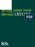 Ico Bring Your Own Device Byod Guidance