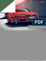 Audi A3 & S3 Saloon Catalogue (UK)