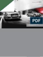 Audi A4, A4 allroad & S4 Catalogue (UK)