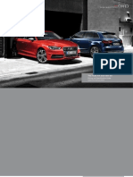 Audi A3 & S3 Catalogue (UK)