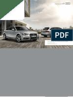 Audi A4 Accessories Guide (UK)