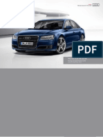 Audi A8 & S8 Catalogue