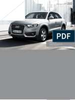 Audi Q3 Catalogue (UK)