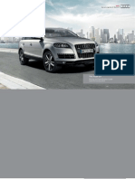 Audi Q7 Catalogue (UK)