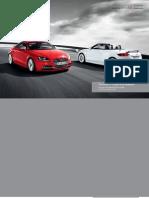 Audi TT Coupe & Roadster Catalogue (UK)