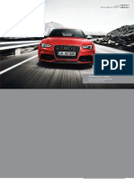 Audi RS 5 Catalogue (UK)