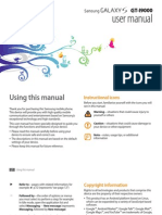 GT-I9000 User Manual