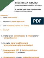 An overview of Digital Modulation