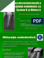 Obturatia endodontica