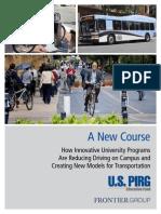 Univ Transp Innovation - A New Course