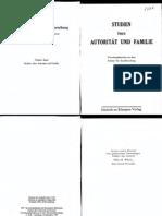 Horkheimer et al- Autorität und Familie_text