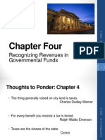 Governmental Accounting - Ch. 4