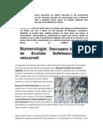 Numerologie - Descopera in Ce Grad de Evolutie Sufleteteasca