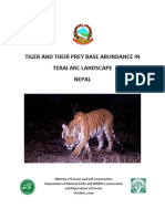 Tiger Monitoring Report Oct 2009 Coincise Report (1)