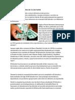 Actividades Economica de El Salvador