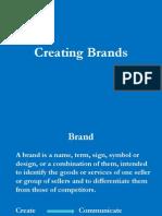 Creating Brands