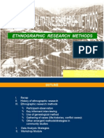 Ethnografic Research Method