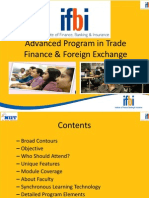 Advanced Program in Trade Finance & Foreign Exchange