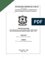 ProyectoTesis EvaluacionExoneracionesTributarias LeoncioPrado 2008 2012 VersionDefinitiva Agosto2013