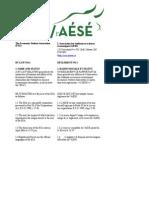 2013 ESA AESE Constitution