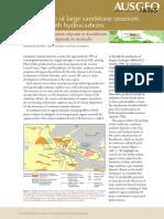 Association of Large Sandstone Uranium -Kaz-Aus