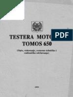 Motorna Pila Tomos 650