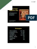 Urgencias Hemorragia Digestiva Alta Dra Barbagelata