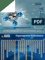 Estruturacao de Ministerios 2014