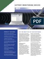 EnerSys Wi-IQ Battery Monitoring Sheet