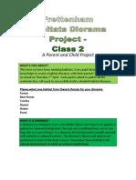 Frett Class 2 Habitat Diorama Project Website