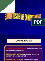 Elementos Competencias