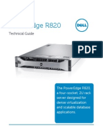 Dell Poweredge r820 Technical Guide