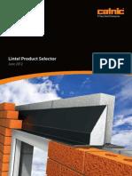 Lintel Product Selector